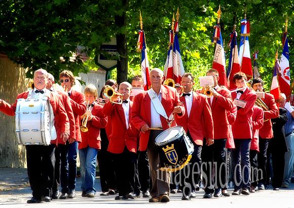 Fanfare, défilé du 14 juillet en France